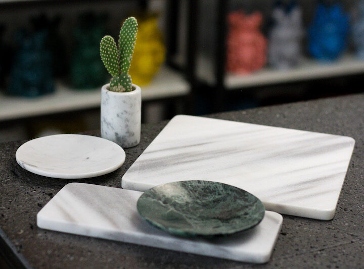 Found in FOLK: Magda Masano's Simple Designs Showcase the Natural Beauty of Marble